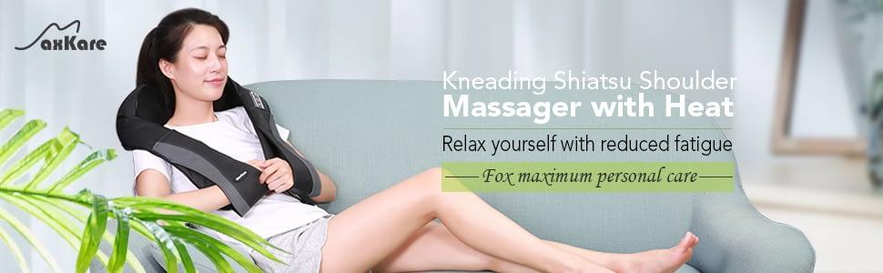 best neck and shoulder massager