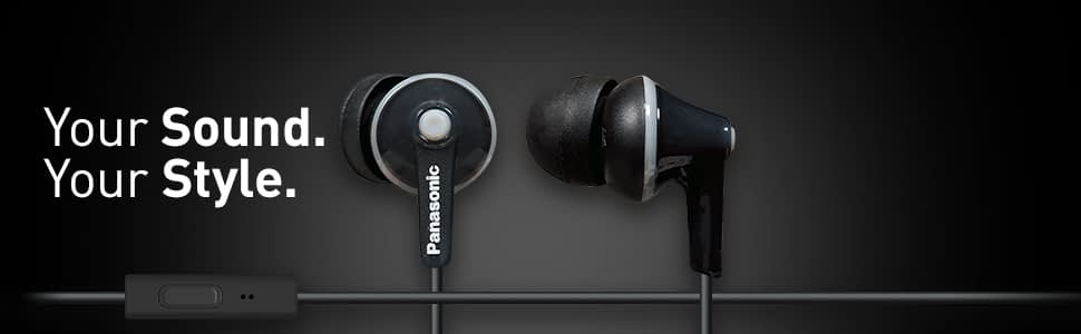 Panasonic ErgoFit - Cheap In-Ear Headphones
