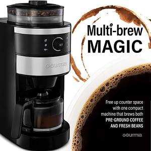 Gourmia GCM4850 Grind and Brew Coffee Maker