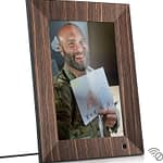Nix Lux 10-inch Digital Photo Frame X10J Wood