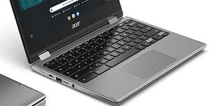 Acer Chromebook Spin 311 - Keyboard