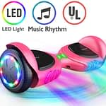 TOMOLOO Music-Rhythmed Hoverboard - best for kids and adults